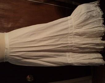 Vintage cotton slip