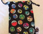 Pokemon drawstring bag...