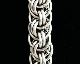 Orbital Vipera Berus Chainmaille Bracelet - Stainless Steel