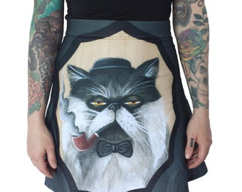 Mr. Meowington Von Fancy Pants III Skirt