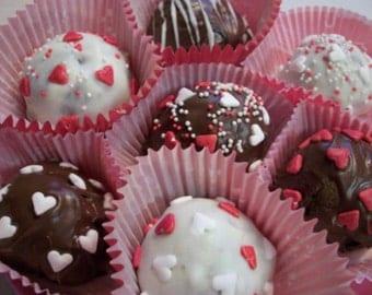 Cake Truffles Valentines Day