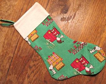 Snoopy Stocking