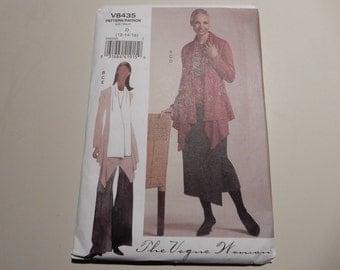 Vogue V8435 Misses Jacket, Top, Skirt and Pants Sizes 12, 14, 16