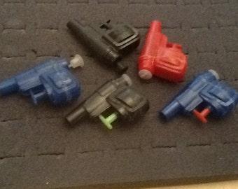 Vintage mini water pistol lot 5 pcs. NOS