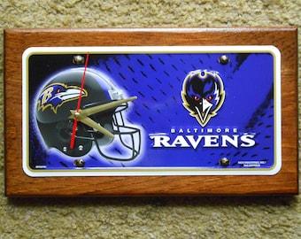 Baltimore Ravens....Quartz Wall Clock... ( Sale )
