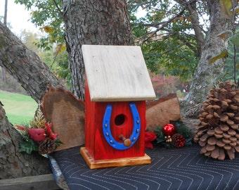 HorseShoe Single Family BirdHouse