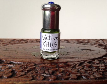 Khus grass vetiver attar