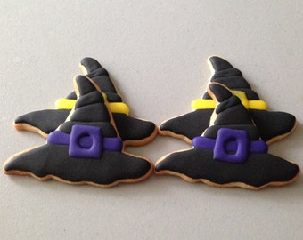 Witches Hat Sugar Cookies
