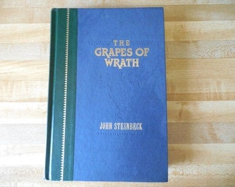 Grapes of Wrath John Steinbeck 1991 Reader's Digest Edition
