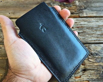 IPhone 6 handmade real leather pouch