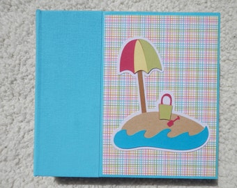 6 x 6 Tropical Beach Scrapbook Album