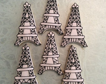 Eiffel Tower- Paris Cookies