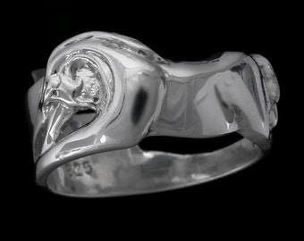 Equestrian Horse Band Ring, Horse Band, Horse Ring, Horse Jewelry, Equestrian Jewelry, Equestrian Ring, Horse Gift, Beautiful Horse Ring