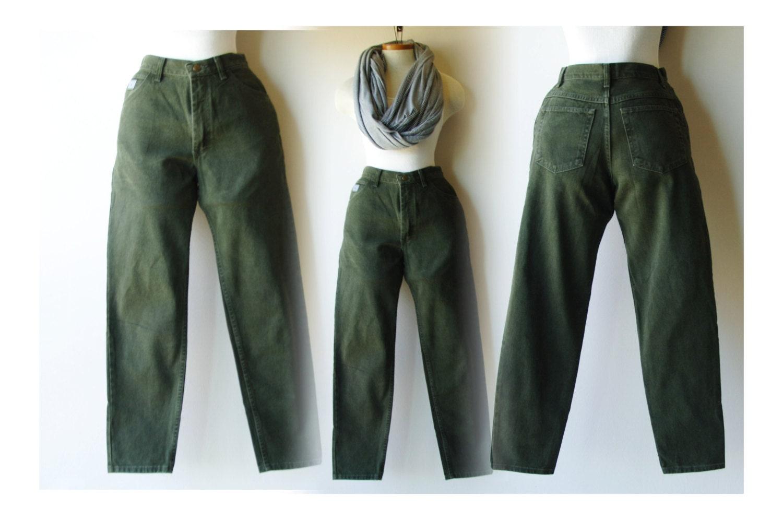 forest green wrangler jeans made in usa high waist measures. Black Bedroom Furniture Sets. Home Design Ideas