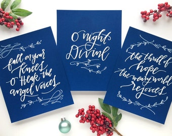 Printable christmas decorations o holy night by for O holy night decorations