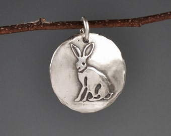 Rabbit totem-jackrabbit-talisman-charm-amulet-power animal-spirit animal