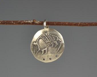 Armadillo totem-charm-talisman-amulet-spirit animal-power animal