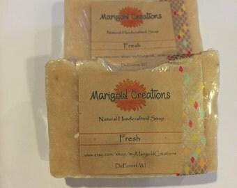 Fresh cold process soap