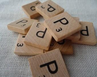 Scrabble Tile Letter P