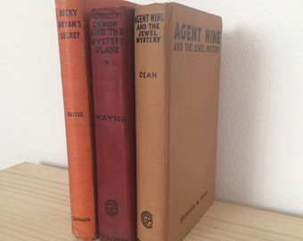 Antique Book Set 1930s // Vintage Books