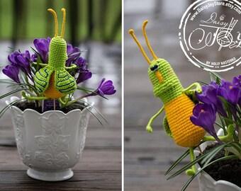 Crochet bug