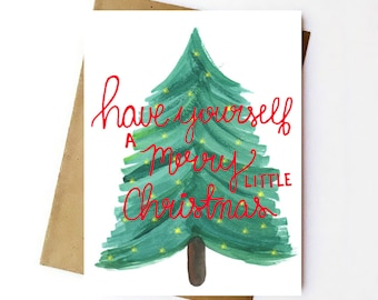 Set of 10 - Have Yourself a Merry Little Christmas