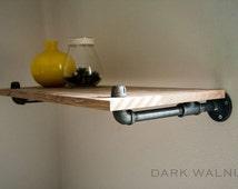 Shelves . Floating. Wall Mounted. Industrial Furniture, Industrial Shelving, Bookshelf, Furniture, Bookcase, Shelves
