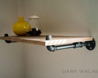 Floating Shelf, Wood Shelf, Reclaimed Wood, Shelf, Shelves, Shelving, Industrial Furniture, Bookshelf, Bookcase, rustic shelf