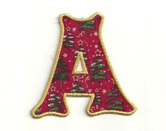 """Christmas Tree Letter! 4"""" any letter Custom Made!"""
