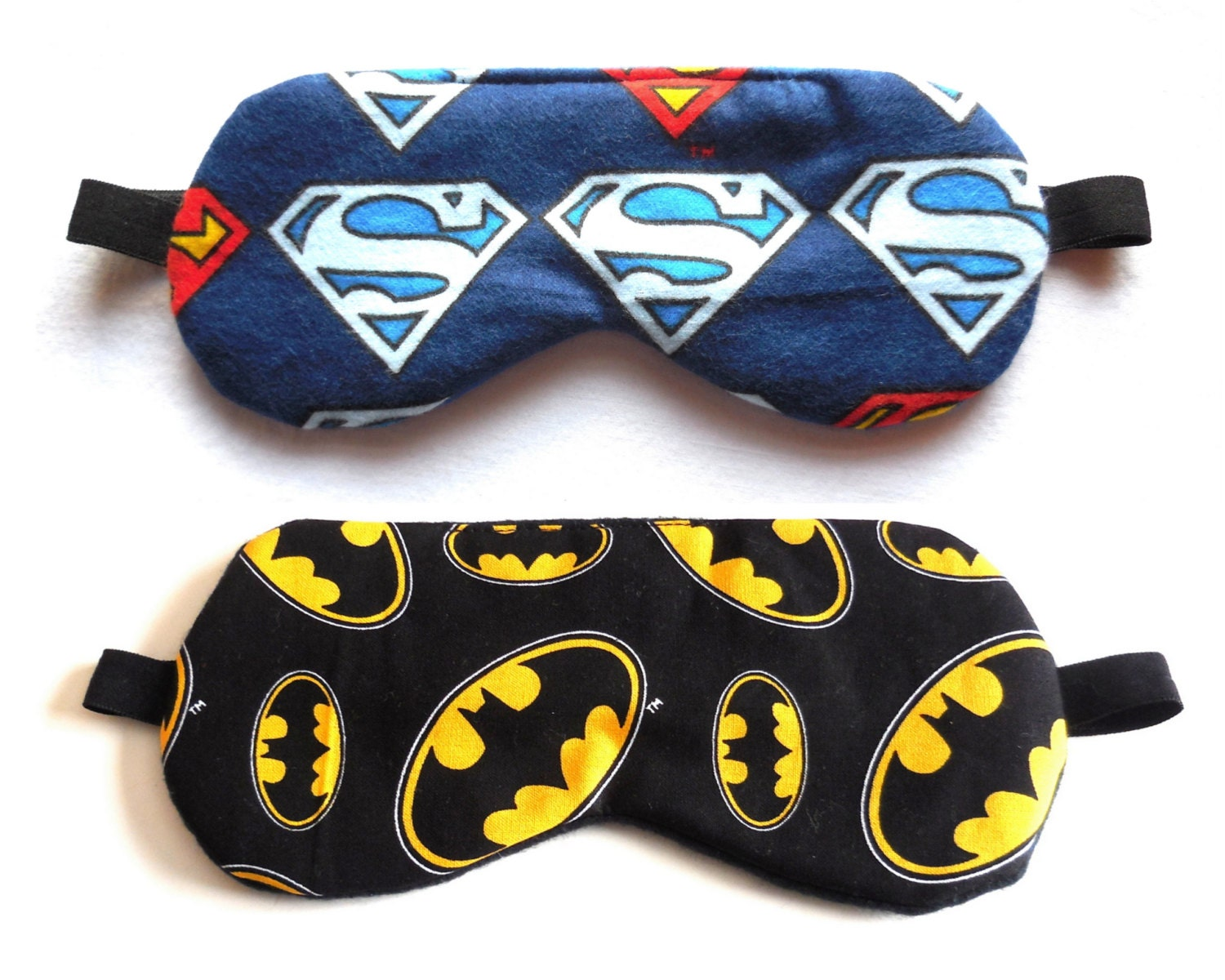 V de batman superman masque de sommeil r versible super h ros - Masque superman ...