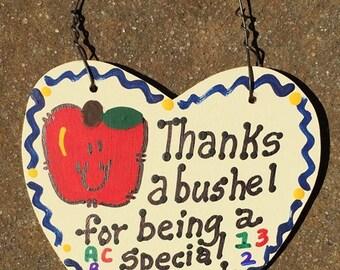 Teacher Gift Thanks a Bushel 6003 Second Grade Teacher