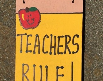 Teacher Gifts Wooden Pencils 28tr Teacher's Rule