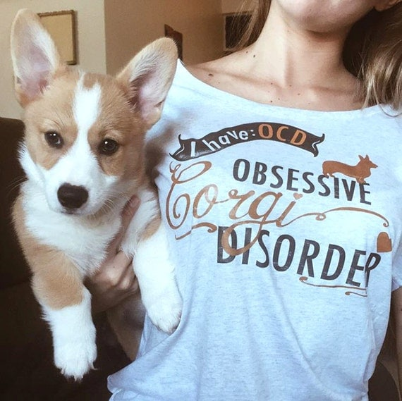 Corgi Lover Shirt- Woman Shirt, Dog Art, Dog Lover, Pet Lover, Dog Mom