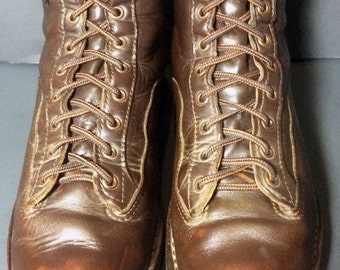 Danner 45200 Explorer Brown Leather Hiking Work Combat Military Boots Men's Size 10