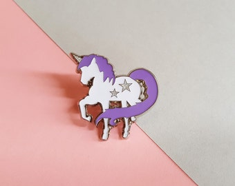 UNICORNZZZ enamel pin badge