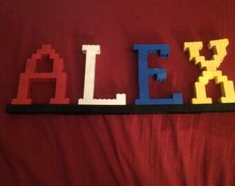LEGO NAME PLATE