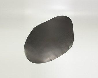 LeatherMob Shinki Hikaku Black Shell Cordovan Leather Horsehide Leathercraft