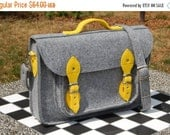 Winter Sale 40% MacBook Pro 13 inch bag, vegan bag, satchel, Laptop bag, case, felt messenger bag