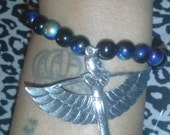 Goddess Isis Bracelet, Goddess Isis Charm Bracelet, Goddess Charm, Egyptian Jewelry, Egyptian Goddess Bracelet, Isis Bracelet, Goddess Isis