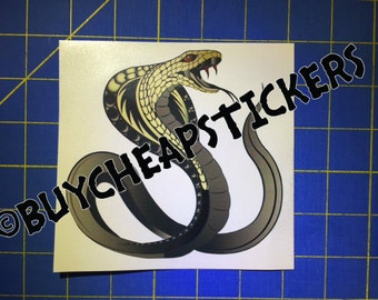 Cobra Decal/Sticker 5X5