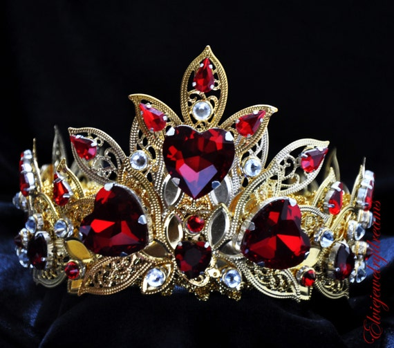 queen of hearts birthday party crowns and tiaras page two