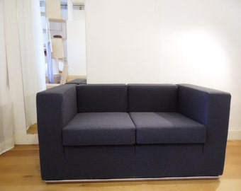 handmade two-seat sofa