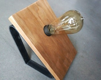 Industrial Edison Bulb Table Lamp