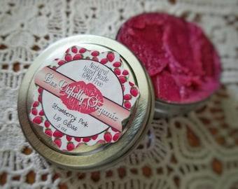Lip Gloss - Natural Lip Gloss - Organic Cosmetics - Pink Lip Gloss - Natural Lip Gloss - Shiny Lip Gloss - Flavored Lip Gloss - Lips - Lip