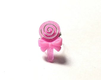 Lollipop ring, candy ring