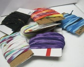 SAMPLE PACK TIEDYED T-shirt Yarn 6 Little Skeins