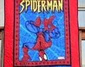 Superhero Kids Quilt - Spider Quilt