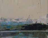 "Original oil painting ""Space M"". The image is 100% authentic, oil painting on cotton canvas. Unique impasto texture."