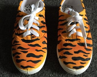 Tiger Print Shoes