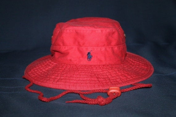 Vintage polo ralph lauren bucket hat classic pony hunting for Polo fishing hat